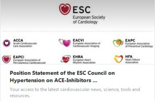 Position Statement of the ESC Council on Hypertension on ACE-Inhibitors and Angiotensin Receptor Blockers