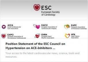 Становище на Съвета по хипертония на Европейското кардиологично дружество за употребата на АСЕ-инхибитори и блокери на ангиотензиновите рецептори